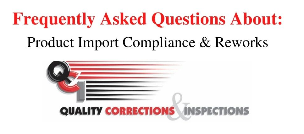 FAQs on Product Import Compliance